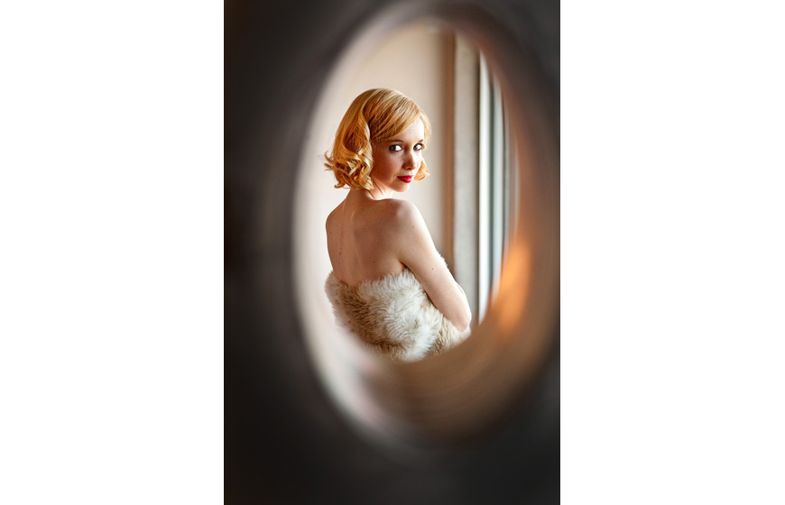 sexy bridal boudoir, Harrison Hurwitz Photography