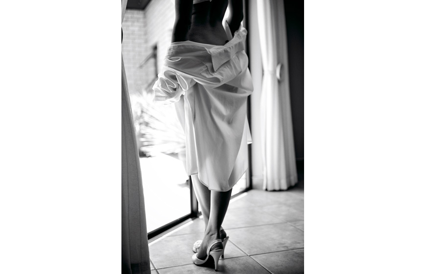 sultry bridal boudoir photo by Natasha du Preez
