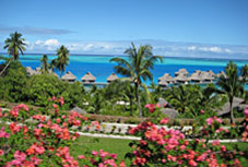 Bora bora nui resort and spa, bora bora, french polynesia honeymoons
