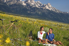 The four seasons resort, jackson hole, wyoming, yellowstone and grand tetons honeymoon hotel