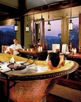 Four seasons tented camp golden triangle, thailand, secluded tropical honeymoon resort
