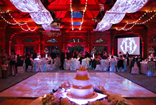 Seattle wedding and event lighting by Green Light Event Design