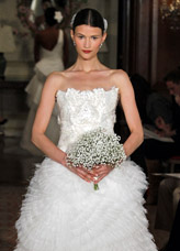Anna gown by Carolina Herrera - Couture wedding fashion