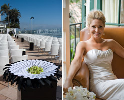 real wedding, santa barbara california, four seasons resort, photos by: robert evans studios inc.