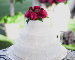 real wedding, santa barbara, ca, photos by: tim halberg, catering by: la fond & pampered palate