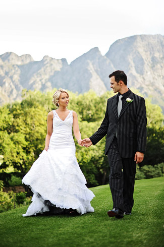 real wedding, le franschhoek hotel, south africa, photography by: eric uys