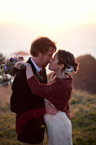 oregon coast, lincoln city, real wedding, photography by: persimmon images