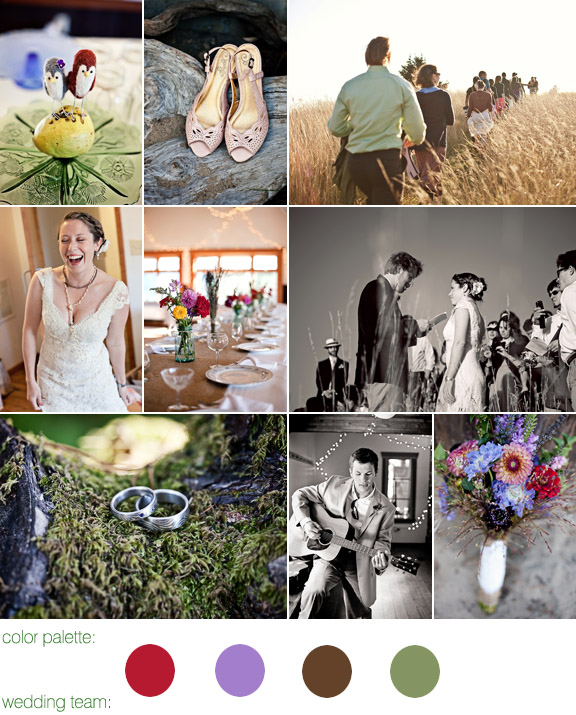 real wedding, lincoln city, oregon, photography by: persimmon images
