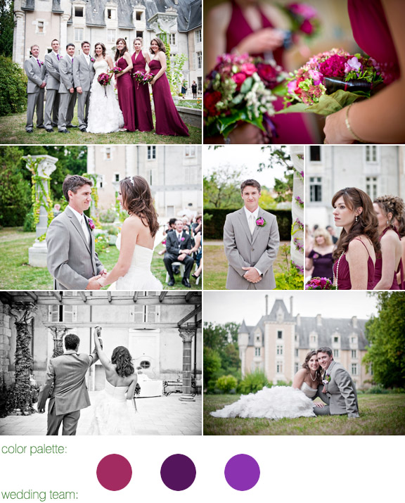 photography by: ivan franchet, france, real wedding, chateau de st. julien