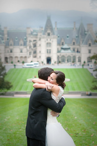 real wedding - asheville - north carolina - woodward and rick photography - biltmore estate