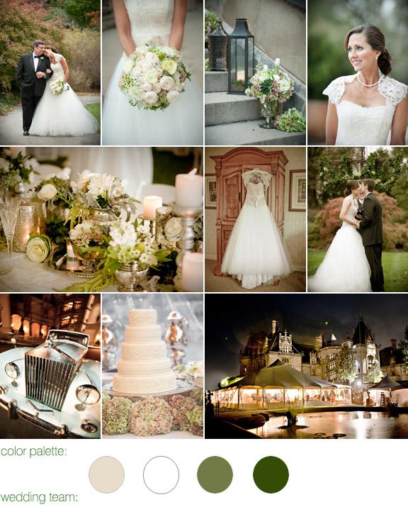 Real Fairytale Weddings Silver Spring Md: Elegant Fall Garden Real Wedding