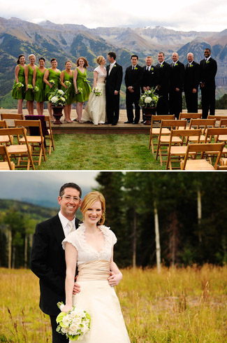photography by adam and imthiaz - real wedding telluride colorado