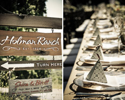 california - real wedding - holman ranch - photography by: alisha + brook