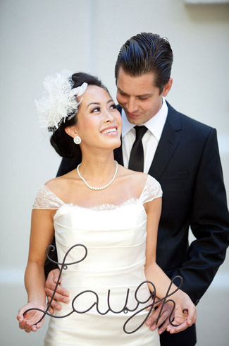 real wedding - photography by: caroline tran - vibiana - los angeles, ca