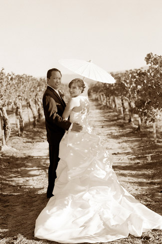 photography by: ulrica wihlborg - ponte family estate winery, ca - real wedding