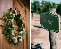 real wedding - california wine country - ponte family estate - photography by: ulrica wihlborg