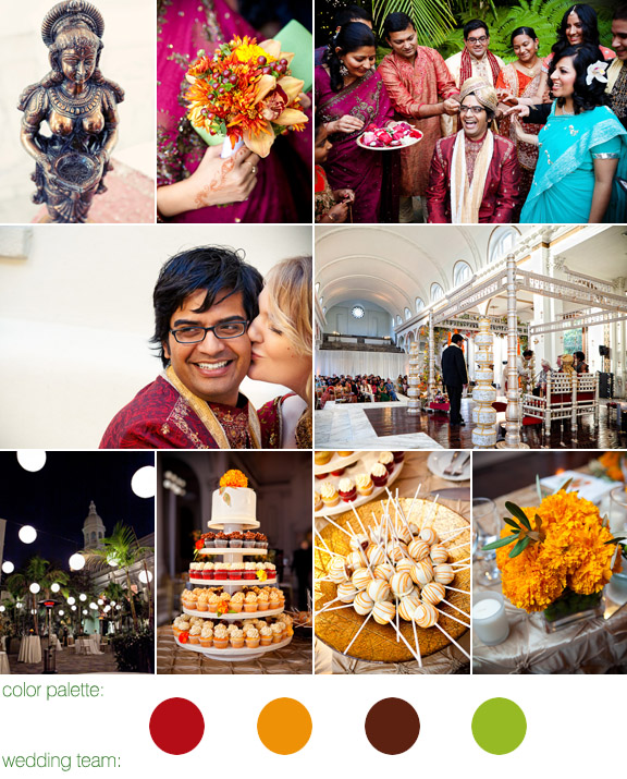 hindu and western real wedding - vibiana - downtown los angeles, ca - callaway gable photography