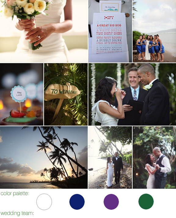 The Bayer Estate, Honolulu, Hawaii - destination real wedding - photography by: Alison Conklin