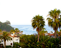 Bacara Resort, Santa Barbara, California wedding - photos by Yvette Roman