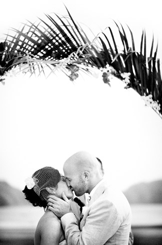 Costa Rican resort destination wedding - photography by: Otto Schulze and Erik Clausen