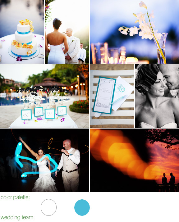 photography by: Otto Schulze Photographers - Costa Rica destination wedding - Tropical Occasions Event Design - Marriott Resort