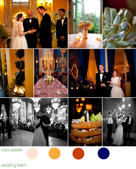 The Ruins, Seattle WA wedding - photography by: La Vie Photography