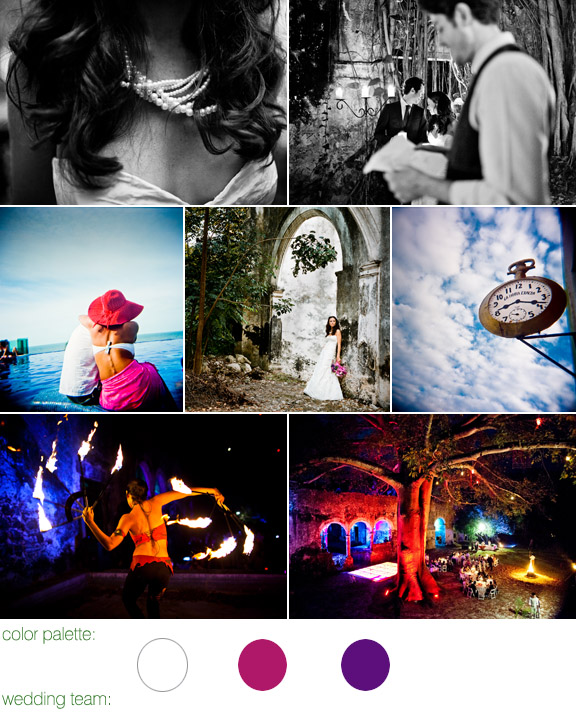 destination real wedding - mexico