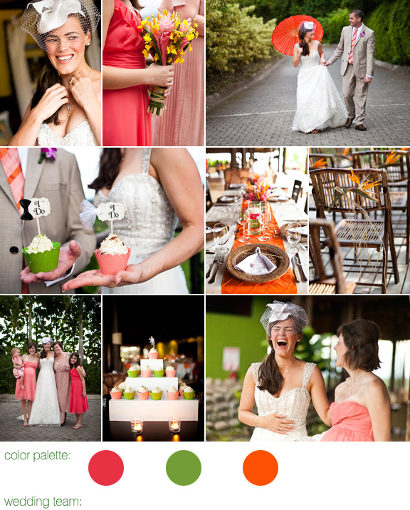 Costa Rica destination wedding - photos by top destination wedding photographers A Brit and A Blonde - Arenal Nayara Hotel and Gardens - Larissa Banting for Weddings Costa Rica