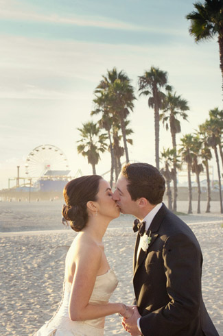 Real Wedding Photos By Boutwell Studio Shutters On The Beach Santa Monica