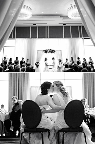 photography by: Jenny J Photography - same-sex wedding - Four Seasons Seattle