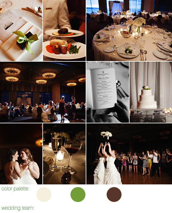 Seattle Four Seasons wedding - same-sex marriage - photos by: Jenny Jimenez