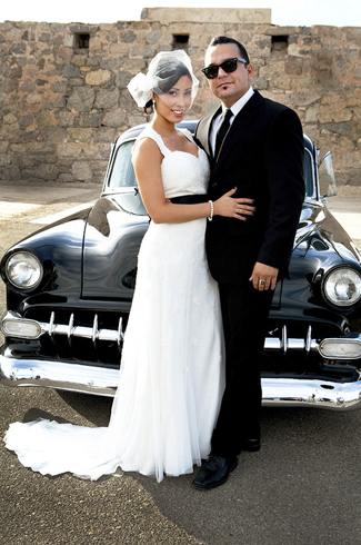 Vintage Yuma Arizona Wedding At St Paul S Cultural