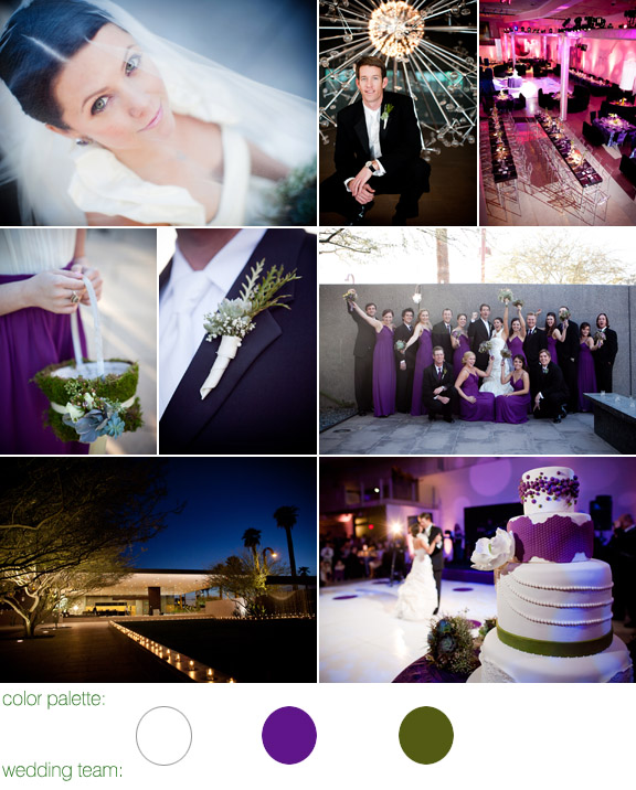 real wedding - Phoenix Art Museum - Phoenix, Arizona - photos by: Hollye Schumacher Photography