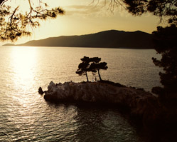Skopelos Island, Greece destination wedding - Adrina Beach Hotel - photography by: Magnus Bogucki