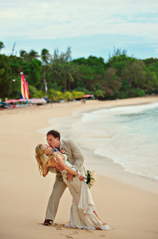 real wedding - Sandy Lane Resort, Barbados - photography by: Aves Photographic Design