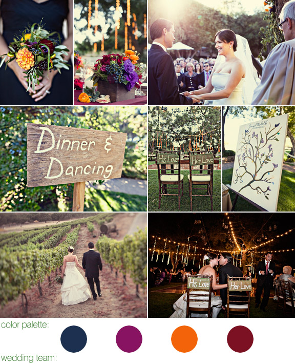 Saddlerock Ranch, Malibu California wedding - photos by: Joy Marie Photography
