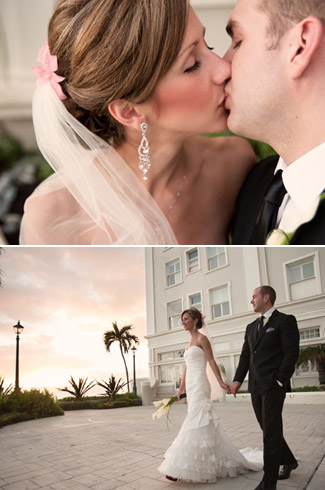 real wedding - Hawaii - photos by: Derek Wong Photography - Moana Surfrider Westin Resort