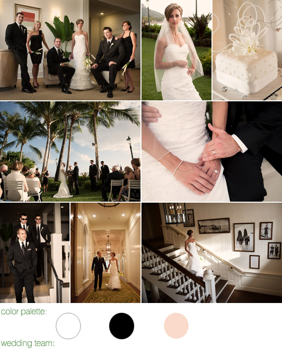 Moana Surfrider Westin Resort - Hawaii - real wedding - photography by: Derek Wong