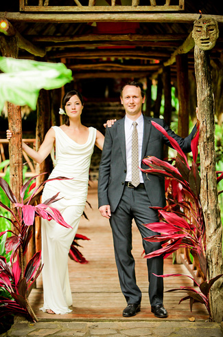 costa rica destination wedding, Rafiki rainforest safari lodge - photos by Laura Grier of Beautiful Day Photography