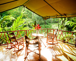 Costa Rican rainforest destination wedding at Rafiki Safari Lodge - photos by Laura Grier of Beautiful Day Photography