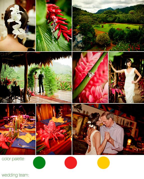 Destination Rainforest Wedding
