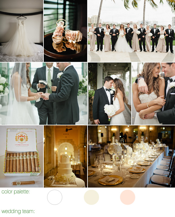 photos by Bee Photographie - Flagler Museum wedding, Palm Beach, Florida