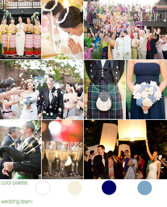 Scottish and Thai wedding celebration - photos by top LA-based wedding photographer Caroline Tran - Siripanna Villa Resort and Spa, Chiang Mai, Thailand