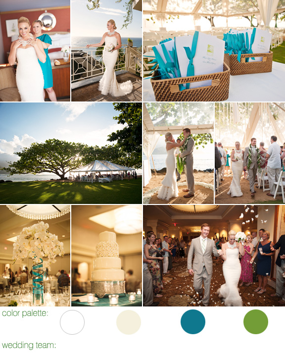 hawaiian destination wedding - st. regis princeville resort - photos by top destination wedding photographer Derek Wong