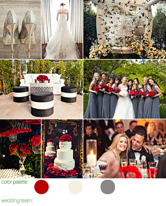 Glamorous Wedding at Bel-Air Hotel, with Design by Mindy Weiss and Photos by Joy Marie