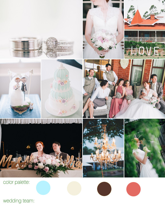 pretty wedding in York, Australia with photos by Ben Yew Photography