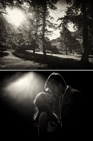 photos by otto schulze - real wedding - glen eyrie castle - colorado