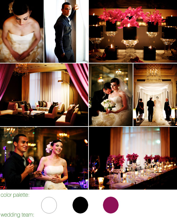real wedding - chicago - elysian hotel - photography by: kevin weinstein