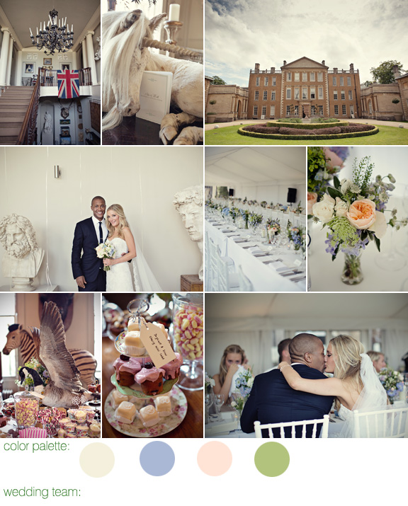 aynhoe park wedding eclectic whimsical wedding style
