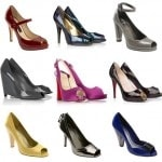 Patent Leather Peep Toe Pumps Anyone?